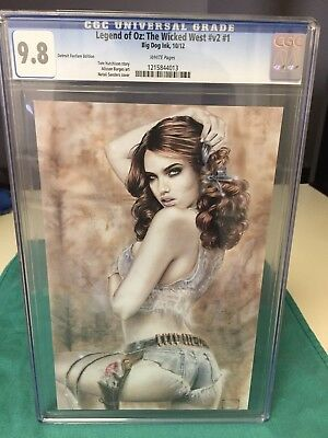 CGC 9.8 Legend of OZ: The Wicked West #v2 #1 Detroit Fanfare Edition, Natalie S.