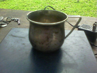 Antique' STERLING' SILVER BABY' CUP