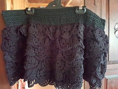 City Chic Crocheted Shorts Size XL