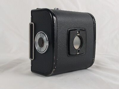 Hasselblad A12 120 Magazine Back (Black) with Matched S/N Insert - Recent CLA!