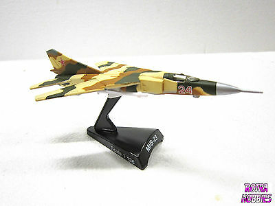 MODEL POWER #5373 Metal diecast plane MIG-23 FLOGGER 1:136 New in box