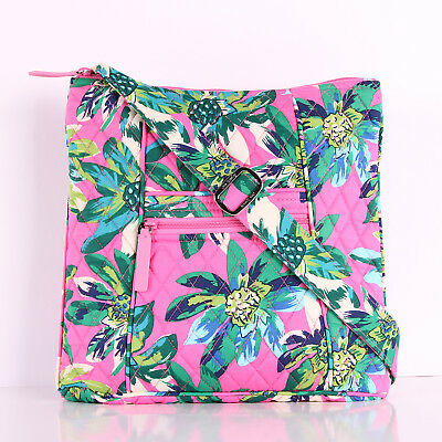 NWT Vera Bradley Large Hipster Crossbody Bag Shoulder Bag