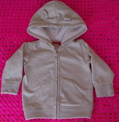 Baby Girl Sprout Hooded Jacket Size 1