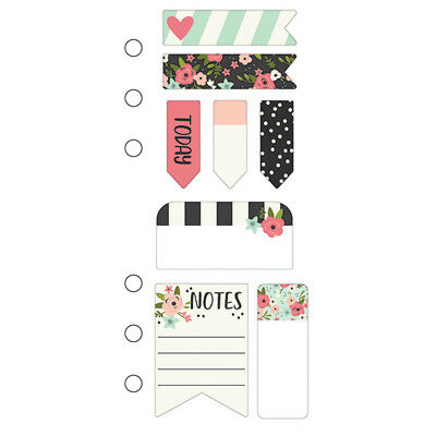 Simple Stories - Bloom - Mini Sticky Notes - Personal Planner Size 8 Designs