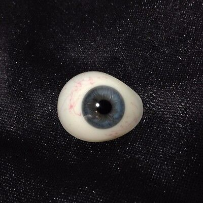 Antique / Vintage Medical  Prosthetic Blue Glass Eye