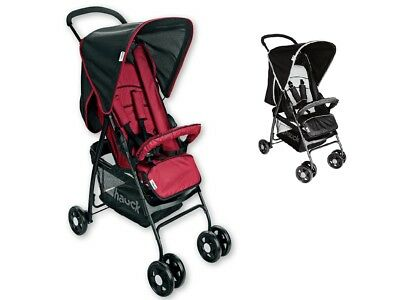 Hauck Tango / Caviar Sport Pushchair Lightweight Baby Stroller Buggy From Birth