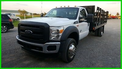 2015 Ford Other XL 2015 Ford F-550 2wd Reg. Cab 16ft Stake Flatbed F550 6.7L Diesel