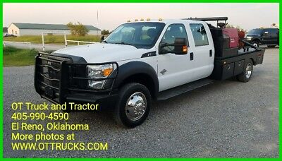 2012 Ford Other XL 2012 Ford F-550 4wd Crew Cab 11ft roustabout flatbed welder F550 6.7L Diesel