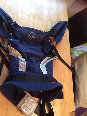 Navy Blue Manduca Baby Carrier With Original Box And Instructions