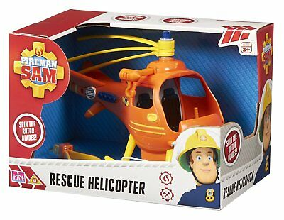 Fireman Sam Helicopter Rescue Brand New