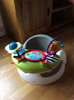 Mamas And Papas Baby Snug Seat with play tray - great condition