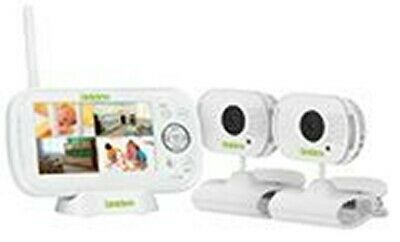 "Uniden BW 3102 4.3"" Wireless Baby Video Monitor  Remote View by Skype 2 Cameras"