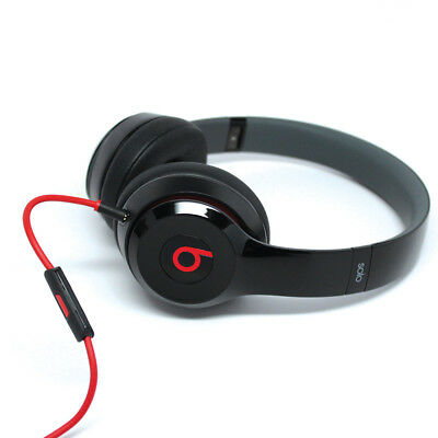 Beats by Dr. Dre Solo HD Over the Head Cable Headphones - Black