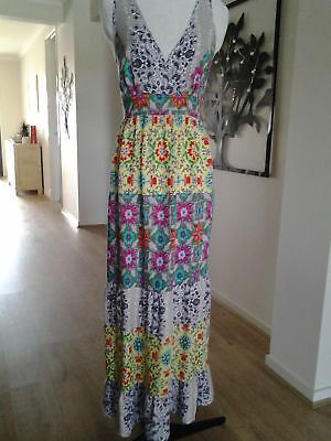 Ladies New Hot Options Maxi Dress Size 16