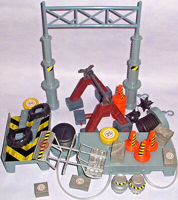 Large Collection Of Robot Wars Track Items Accessories Logistix Bbc Job Lot Set