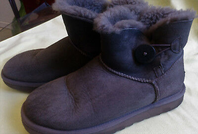 Boots UGG Gris  Pointure 38