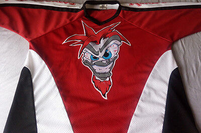 Real Juggalos Red, Black & White XL Hockey Jersey * INSANE CLOWN POSSE TWIZTID
