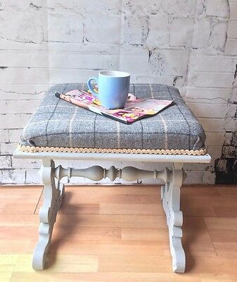 Victorian Painted  Footstool