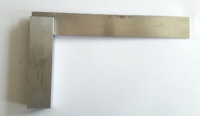 Moore & Wright Engineers Square No.400 160mm DIN 875, B.S. 939, Made in England