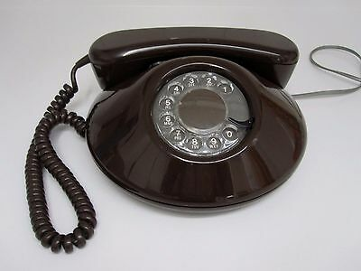 "Vintage Telephone ""Dawn"" Brown By Northern Telecom"