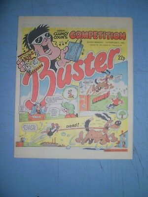 Buster issue dated February 1 1986