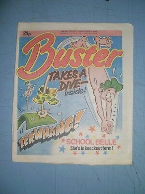 Buster issue dated November 22 1986