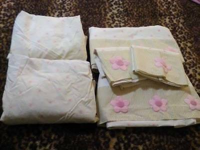 Girls Summer Cot Set Bundle No 20 ..... VERY GOOD / GOOD USED CONDITION