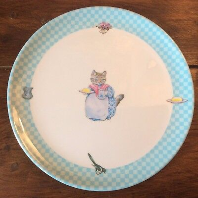 grande assiette mélamine Frederick Warne Beatrix Potter Mrs Tabitha Twitchit