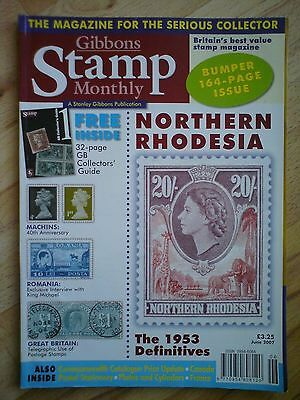 Gibbons Stamp Monthly - June 2007