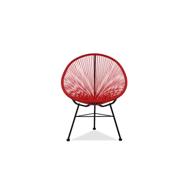 GFURN Reproduction of Acapulco Chair - Red