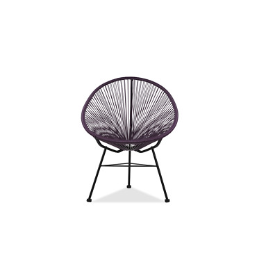 GFURN Reproduction of Acapulco Chair - Purple