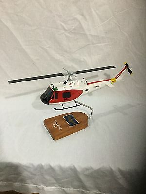 """Bell UH-1B """"Huey"""" US Navy training helicopter, scale model"""