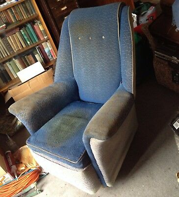 1950s 3 piece suite sofa settee armchairs