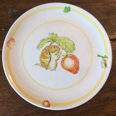 assiette plate mélamine Frederik Warne Beatrix Potter Timmy Willie