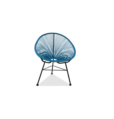 GFURN Reproduction of Acapulco Chair - Navy
