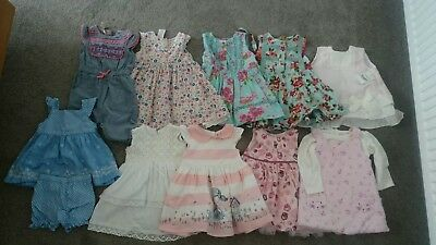 baby girls clothes bundle 0-6 months