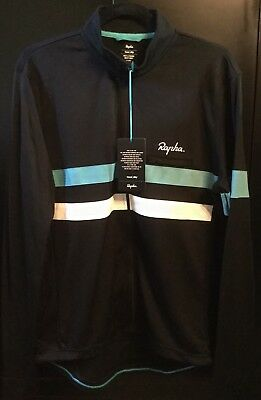 Rapha Brevet Long Sleeved 'Team Sky' Jersey - Navy - Size XXL