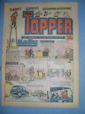 Topper issue 1081 dated October 20 1973
