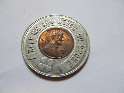 Encased Penny 1953 D Good Luck Penny At Kay Jewelers You Don't Need 1 Cent Now