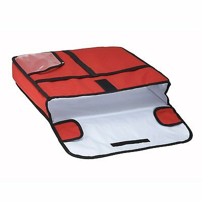 """Insulated Pizza Delivery Bag, 20"""" x 20"""" x 5"""" Keep Food Warm Hot Transport Carry"""