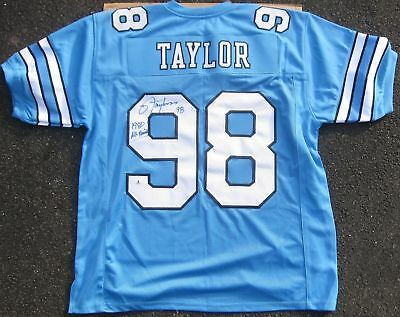 6fbcabd99 Lawrence Taylor signed Jersey 1980 All American inscrip Beckett BAS  Authentic