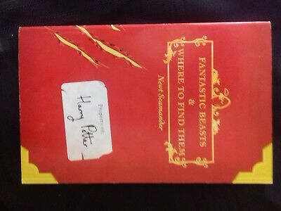 Harry Potter Comic Relief: Fantastic Beasts and Where to Find Them - 1st Ed