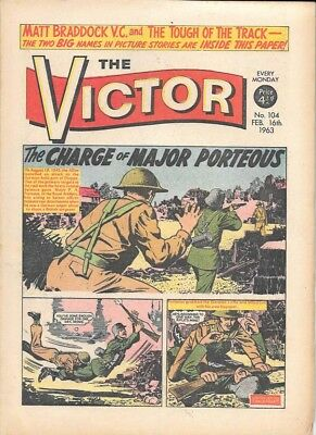 The Victor 104 (Feb 16, 1963) very high grade