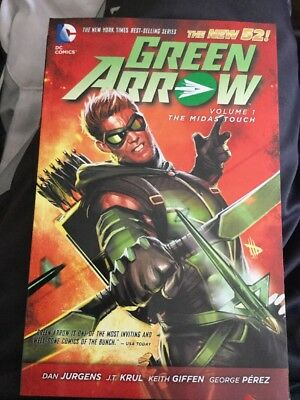 Green Arrow Vol. 1 The Midas Touch New 52