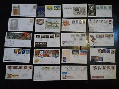 Job Lot Of 20 X Gb First Day Covers Lot 6