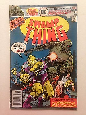 Swamp Thing #24 (1976) Mystery of Alec Holland DC Comics