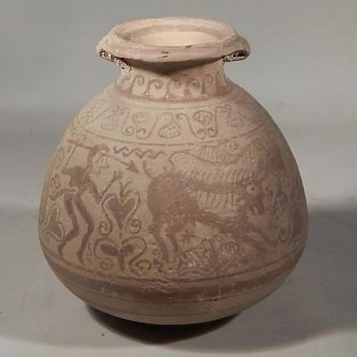 Celtic Iberian Boar Hunting Scene Ancient Artifacts Pottery 2Nd Century Bce