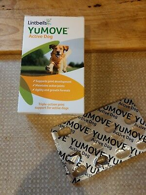 Lintbells Yumove Active Dog Tablets Joint Supplements