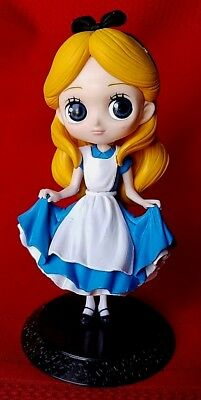 "Q Posket Disney Characters Series Anime Alice In Wonderland Doll Pvc 6"" Figurine"