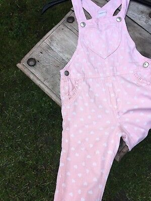 girls cord patterned dungerees h&m